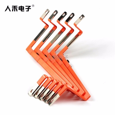 新能源电动电池连接铜排 蓄电池高导电机用铜排连接 动力电池连接