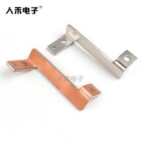 铜铝复合材连接铜排 镀锡铜铝复合排