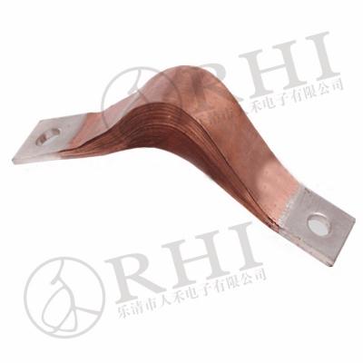铜带软连接 优质高压真空防爆导电带 配电柜软连接铜带