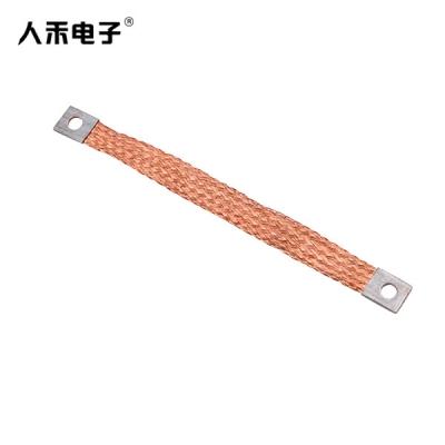 定制编织排,编织软连接铜排,编织铜排