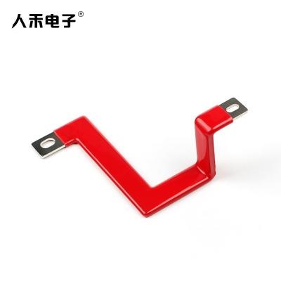 定制折弯硬铜排 导电铜排连接