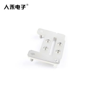 定制电动电池铜排硬连接 铆钉铜排连接件