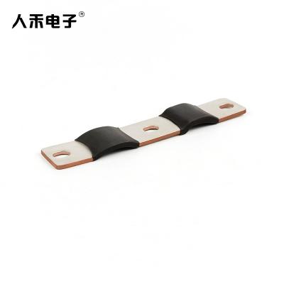 定制铜箔软连接 紫铜镀锡 叠层柔性铜排电池导电连