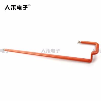 厂家定制电工器材配件 新能源浸塑铜排硬连接