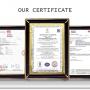 浸塑铜排ROHS报告证书